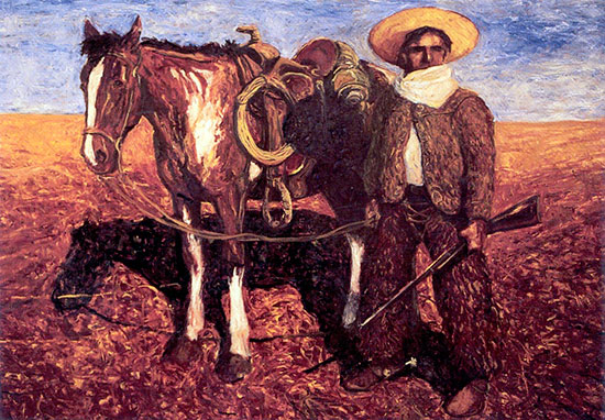 The Outrider ©Santiago Perez - Paintings of the West